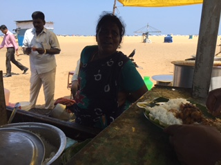 Beach Food Stall